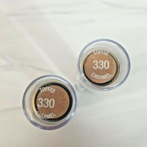 2 pk Maybelline Foundation Face Stick #330 Toffee